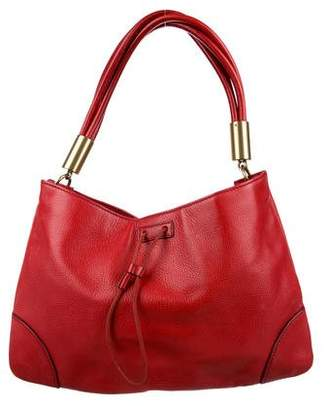 Gucci Leather Drawstring Hobo