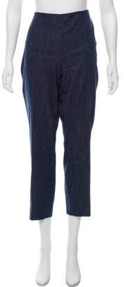 Akris High-Rise Straight-Leg Jeans