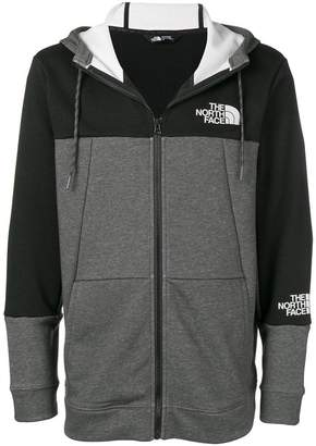 The North Face two-tone zipped jacket