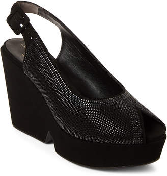 Robert Clergerie Dastre Embellished Platform Slingback Sandals