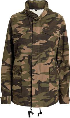 Vis ā Vis Woodland Camo Field Jacket