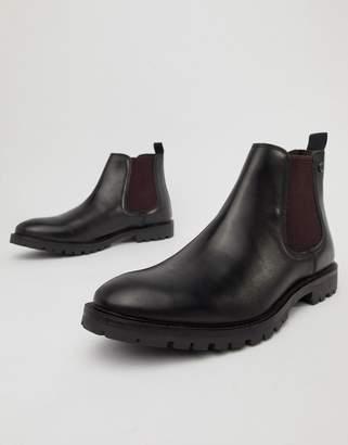 Base London Havoc chelsea boots in black
