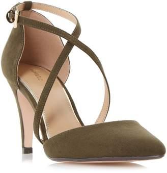 Linea Cayley Cross Strap Two Part Court Shoes