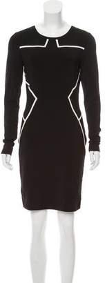Diane von Furstenberg Ponte Knit Mini Dress