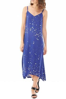 Alternative Apparel Challis Midi Dress $98 thestylecure.com