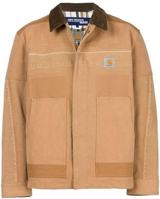 Junya Watanabe MAN x Carhartt patchwork jacket