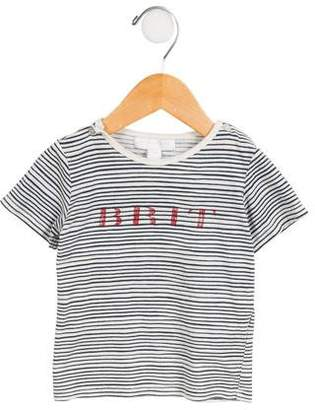Burberry Girls' Striped Short Sleeve Top