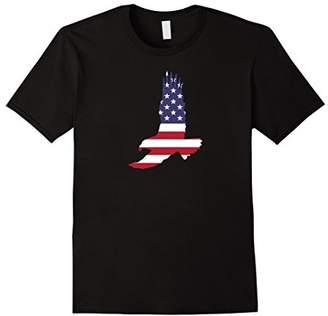 Soaring Eagle Patriotic American Flag