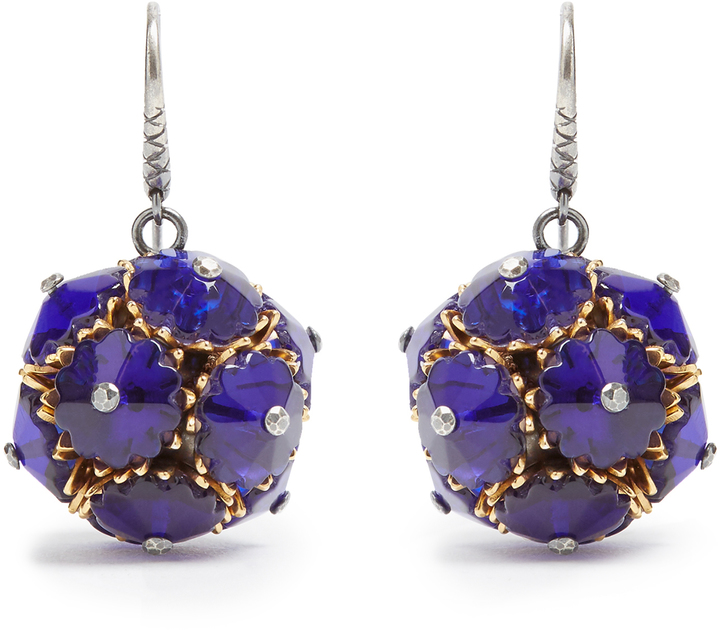 Bottega Veneta BOTTEGA VENETA Crystal ball earrings