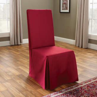 Sure Fit Cotton Duck Long Chair Slipcover