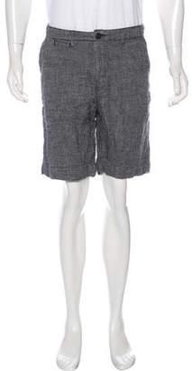 Billy Reid Woven Linen Shorts