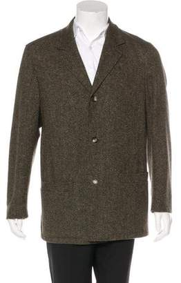 Luciano Barbera Wool & Cashmere Coat