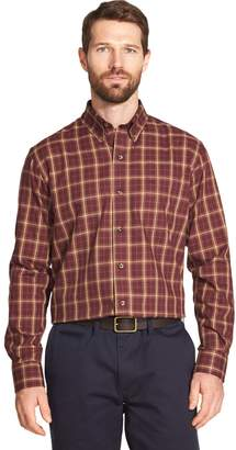 Arrow Men's Heritage Classic-Fit Plaid Twill Button-Down Shirt