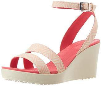 Crocs Women's Leigh Graphic Wedge