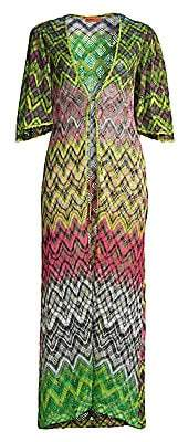 Missoni Mare Women's Raschel Multicolor Coverup