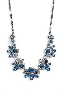 Givenchy Cluster Crystal Necklace