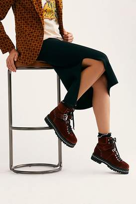 Lola Cruz Quinn Lace Up Boot