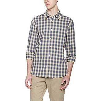 Lumberfield Spring 100% Cotton Men's Casual Button-Down Plaid Shirts