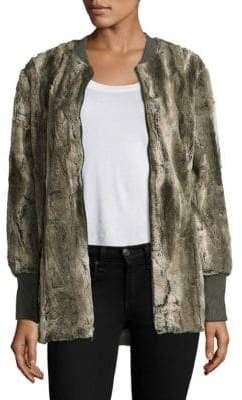 Splendid Faux Fur Jacket