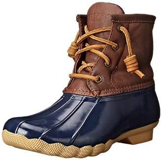Sperry Saltwater Rain Boot (Little Kid/Big Kid) $41.51 thestylecure.com