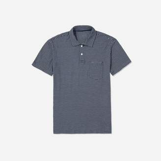 Everlane The Indigo Cotton Pocket Polo