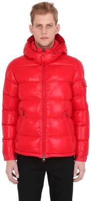 Moncler Maya Nylon Laqué Down Jacket