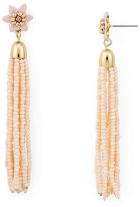 Rebecca Minkoff Calla Tassel Drop Earrings