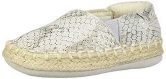 Robeez Girls' Espadrille-First Kicks Crib Shoe