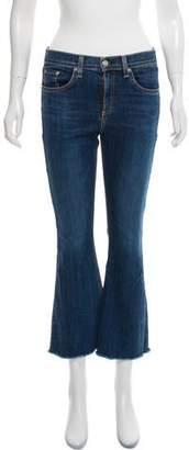 Rag & Bone Distressed Flared Jeans