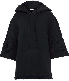 J.W.Anderson Cotton-Blend Fleece Hooded Sweatshirt