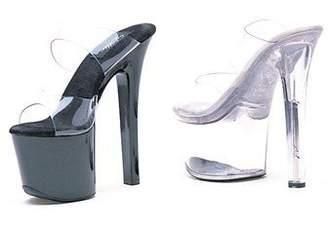 clear Ellie Shoes Women's 711-coco