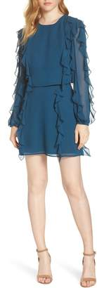Ali & Jay A Girl Can Dream Two-Piece Ruffle Trim Dress