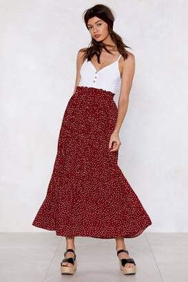 Nasty Gal You've Dot Another Thing Coming Spotty Skirt