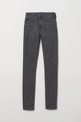 H&M Shaping Skinny Regular Jeans - Gray