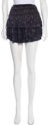 Ulla Johnson Tiered Mini Skirt