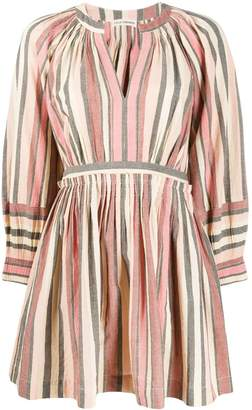 Ulla Johnson short striped dress