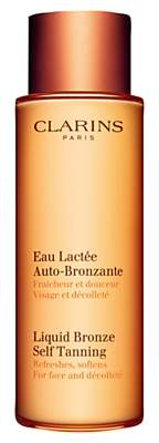 Clarins Liquid Bronze Self Tanning for Face and Décolleté, 125ml