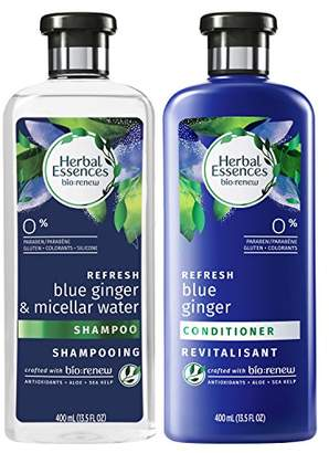 Herbal Essences Bio Renew Micellar Water & Blue Ginger Shampoo and Conditioner Set