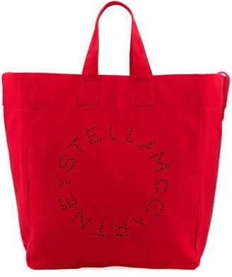 Stella McCartney Canvas Beach Tote Bag