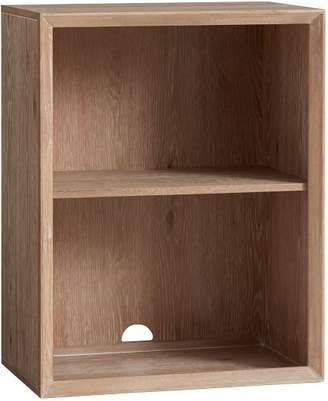 Pottery Barn Teen Callum Wall System Cubby, Water-Based Smoked Gray
