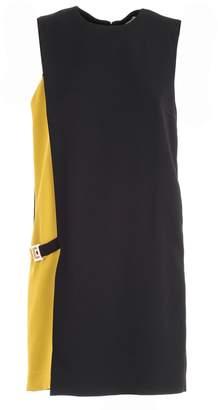 Versace Contrast Swing Dress