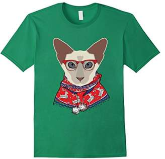Caterpillar Balinese Cat Ugly Christmas Sweater T-shirt