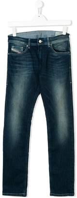 Diesel TEEN faded slim jeans