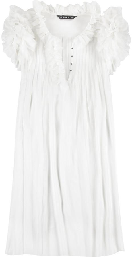 Thomas Wylde Mamissi sheer dress