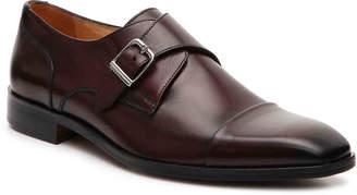 Mercanti Fiorentini Monk Strap Slip-On -Brown - Men's