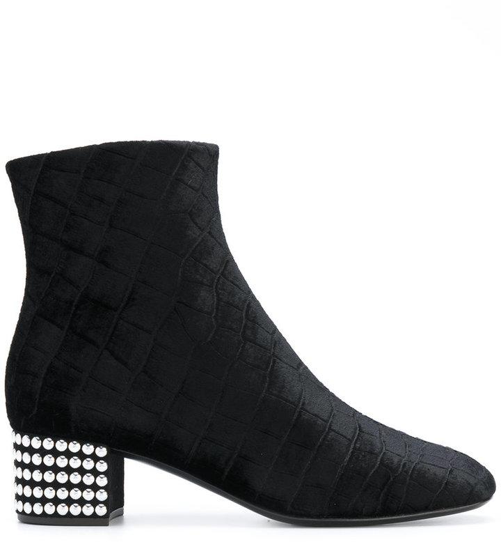 Giuseppe Zanotti Design studded heel boots