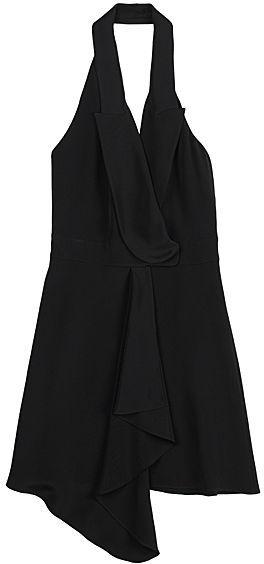 Alexander Wang Silk Crepe Vest Dress