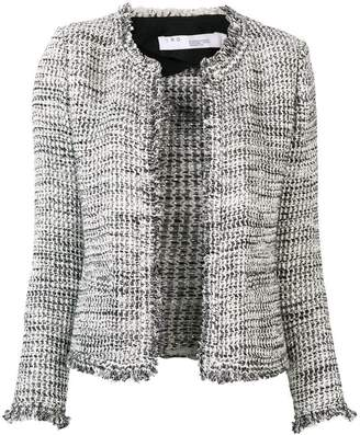 IRO knitted fitted jacket