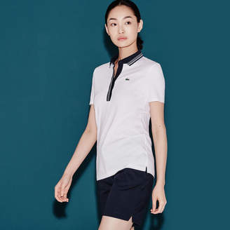 Lacoste Women's SPORT Golf Ultra-Lightweight Stretch Knit Polo