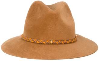 Yosuzi Lexa pom pom fedora hat